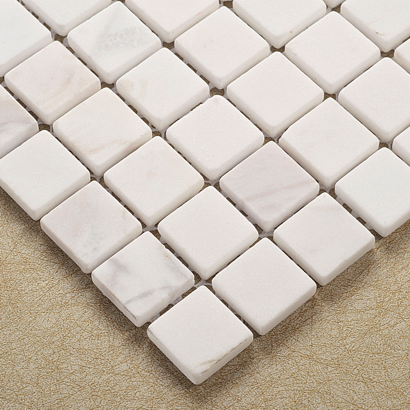 buy white natural stone mosaic tiles