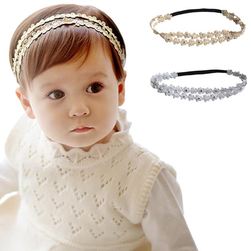 Delicate Hot! Rhinestone Headband Hairband Baby Girls Flowers Headbands Hair Accessories nor6222(China (Mainland))