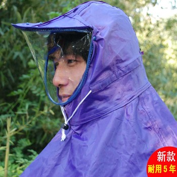 free shipping Face mask raincoat singleplayer thickening double bicycle electric bicycle motorcycle poncho car battery 8