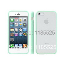 1 piece free shipping BONWES Hybrid Gummy PC/TPU Slim Protective Case for apple iPhone 4 4S 4G + screen protective film(China (Mainland))