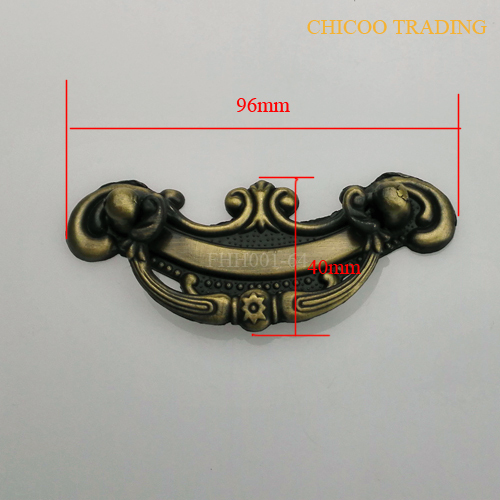 64mm Center to Center furniture handle Antique Brass zinc alloy cabinet handle(China (Mainland))