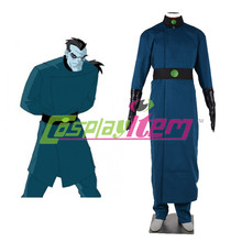 Custom made Kim Possible Drakken Cosplay costume pour les hommes adultes