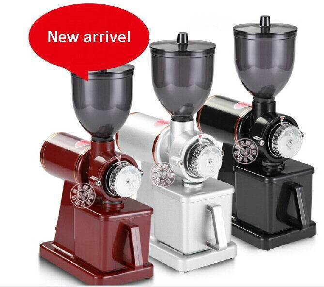 Electric coffee grinding machine gristmill Professional coffee beens grinders household adjustable thickness commercial grinder(China (Mainland))
