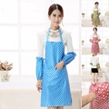 Korean restaurant kitchen cooking aprons with pocket cuff waterproof suit kitchen decor accessories 6zZA041