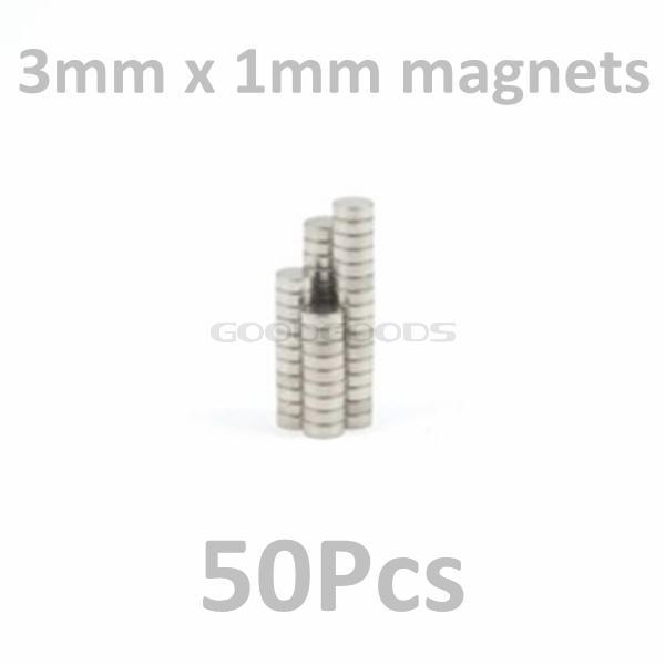 Гаджет  In Stock New 50Pcs tiny Neodymium disk magnets 3mm dia x 1mm N35 - magic model craft wargaming Free Shipping None Строительство и Недвижимость