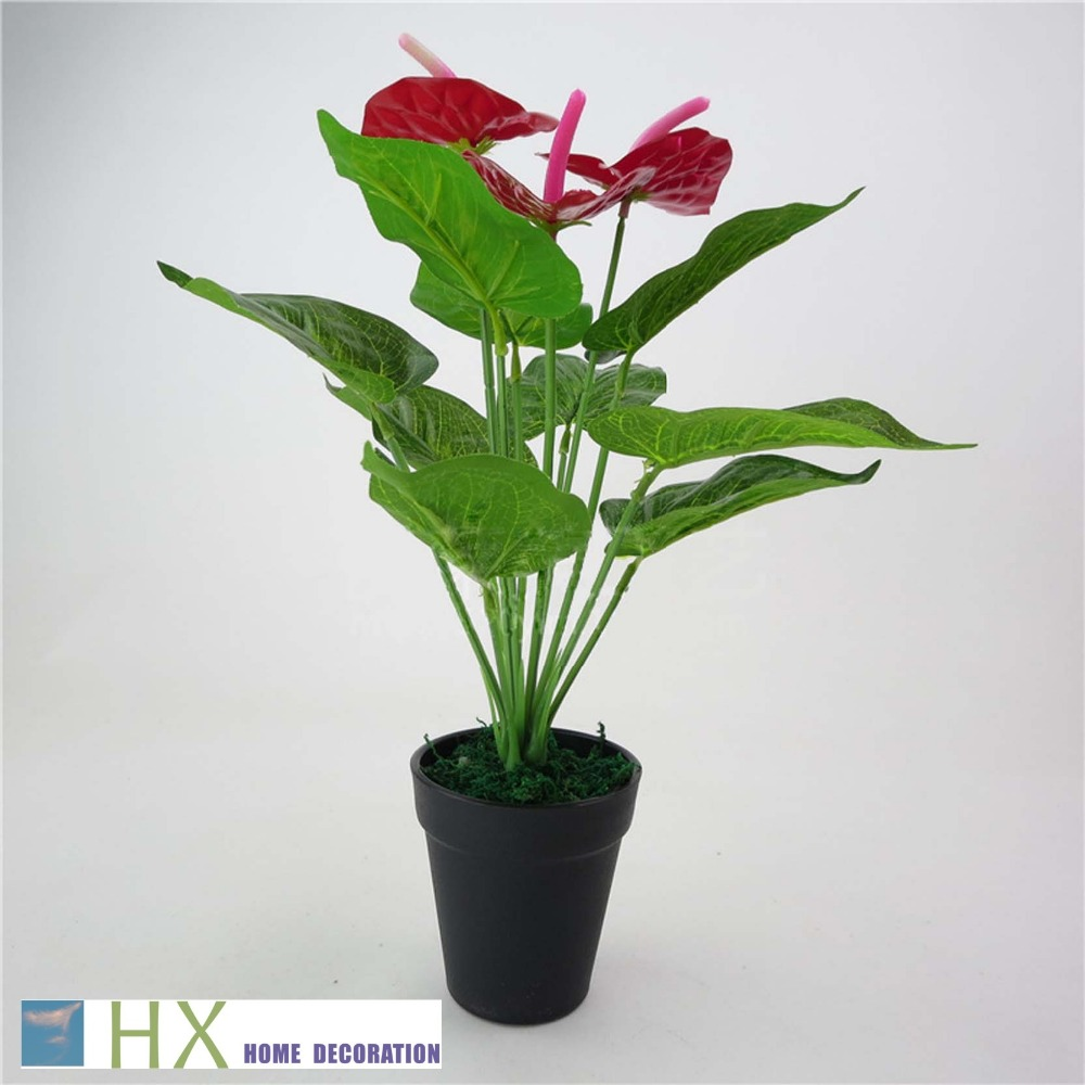 Buy free shipping 12 leaves pcs 2pcs lot for Plant decorations home