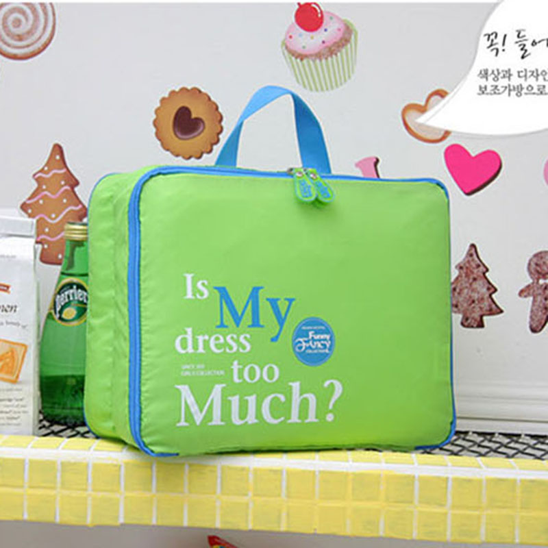 Hot Sale Women 5Pcs/Set High Quality Clothing Storage Bag Portable Pouch Dust Bag Storage Bag Travel Storage Bag(China (Mainland))