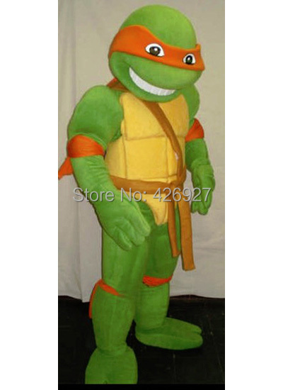 Animation performing mascot costume Teenage Mutant Ninja Turtles mascot adult size in four colors(China (Mainland))