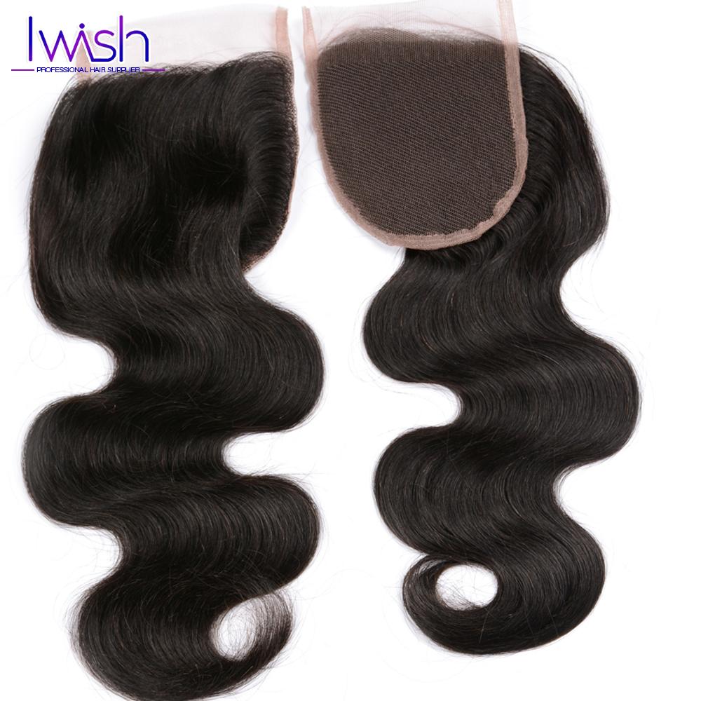 1pcs Lace Closure Swiss Lace Top Closure Free Part Size 4x4 Peruvian Virgin Body Wave Closure Funmi Hair Rosa Hair products<br><br>Aliexpress