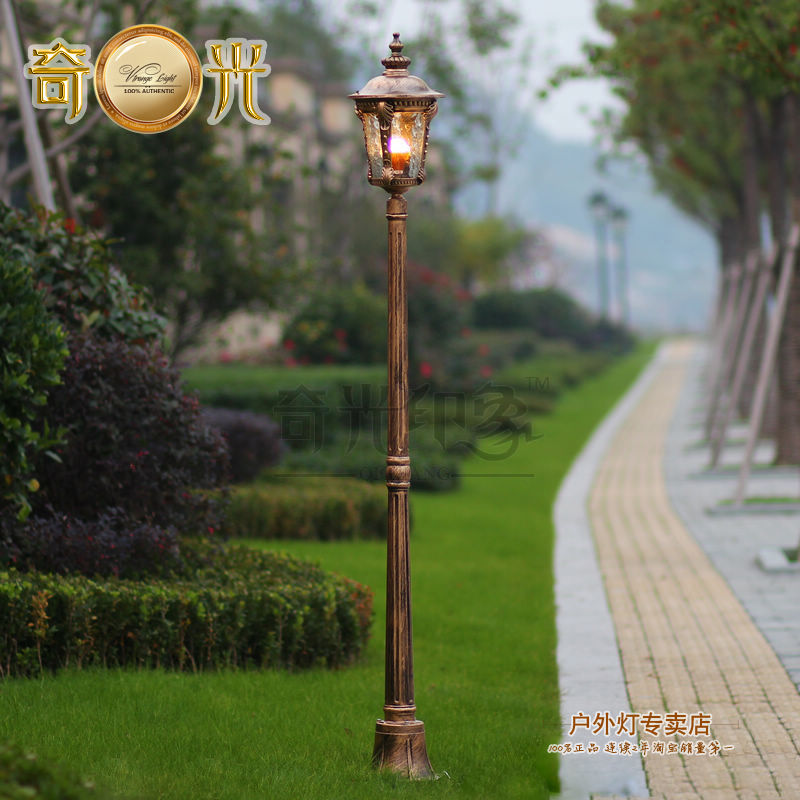 Online buy wholesale street lamp post from china street for Lampadaire retro exterieur