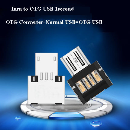 Free shipping New OTG adaptor OTG function Turn normal USB into smartphone USB Flash Drive Mobile Phone Adapters(China (Mainland))