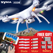 Original Syma X5SC X5S X5SW WIFI Real Time Transmission Rc Quadcopter 2.4G 4CH FPV Drone With Camera CF Modle Helicopter Toys