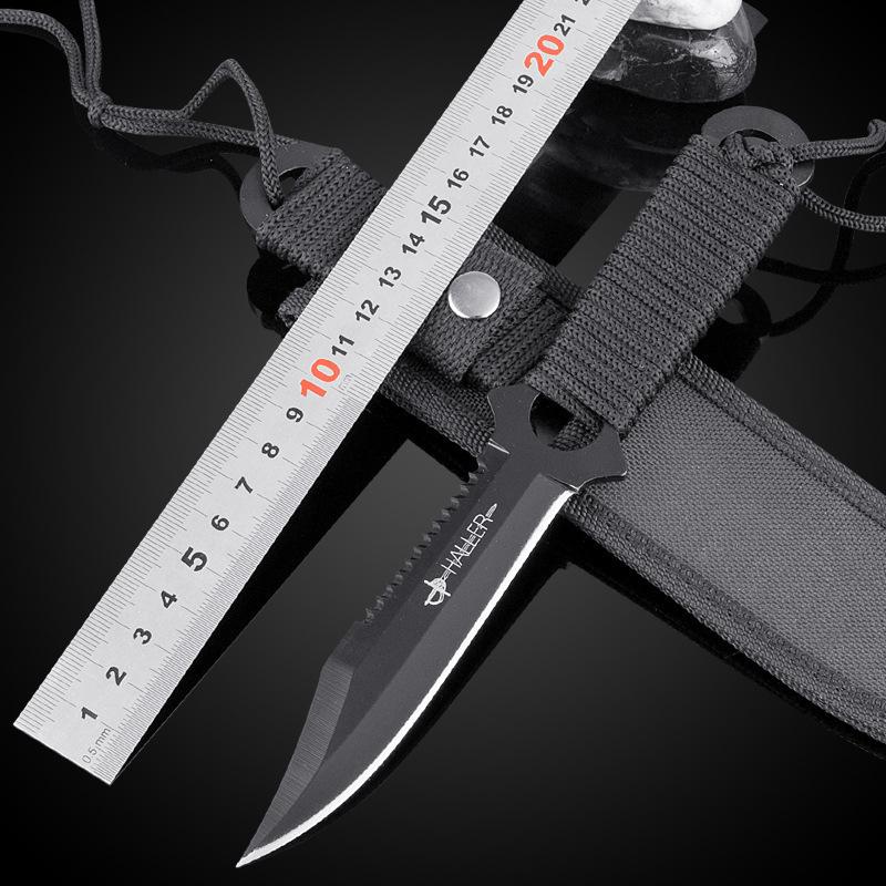 2015 Hot sell knives metal hike knife outdoor pocket camping knife survival hunting knife Blade knife tool trenchant Free Ship(China (Mainland))