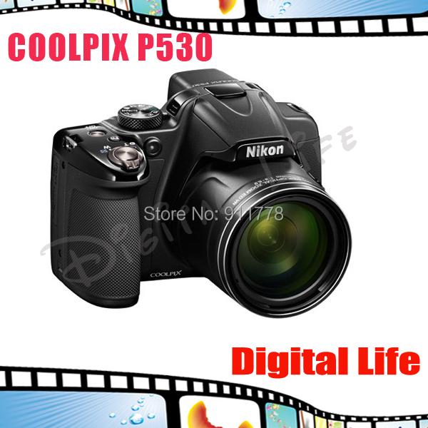 Nikon COOLPIX P530 16.1 MP CMOS Digital Camera with 42x Zoom NIKKOR Lens and Full HD 1080p Video(China (Mainland))