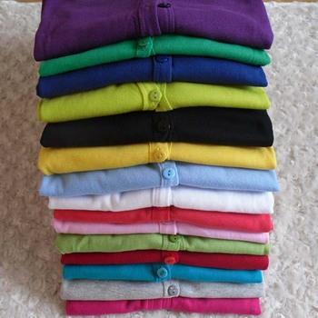 Горячая распродажа женская дамы сладкие конфеты цвет длинным рукавом пальто свитер джемпер