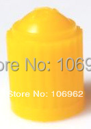 1000 pcs/lot Yellow Plastic Tire Valve Cap Car Tire Valve Cover 8V1 ThreadsWholesale China Post Free Shipping(China (Mainland))