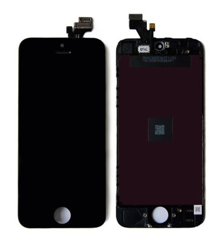 Quality A LCD Replacement For Iphone 5s lcd screen display and Touch Screen digitizer Assembly Black white color + Tools
