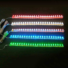 New Coming 48cm Auto LED Light Strip Home Jewelry 24CM to 120CM Car Atmosphere Lights The Great Wall Lamp AE(China (Mainland))