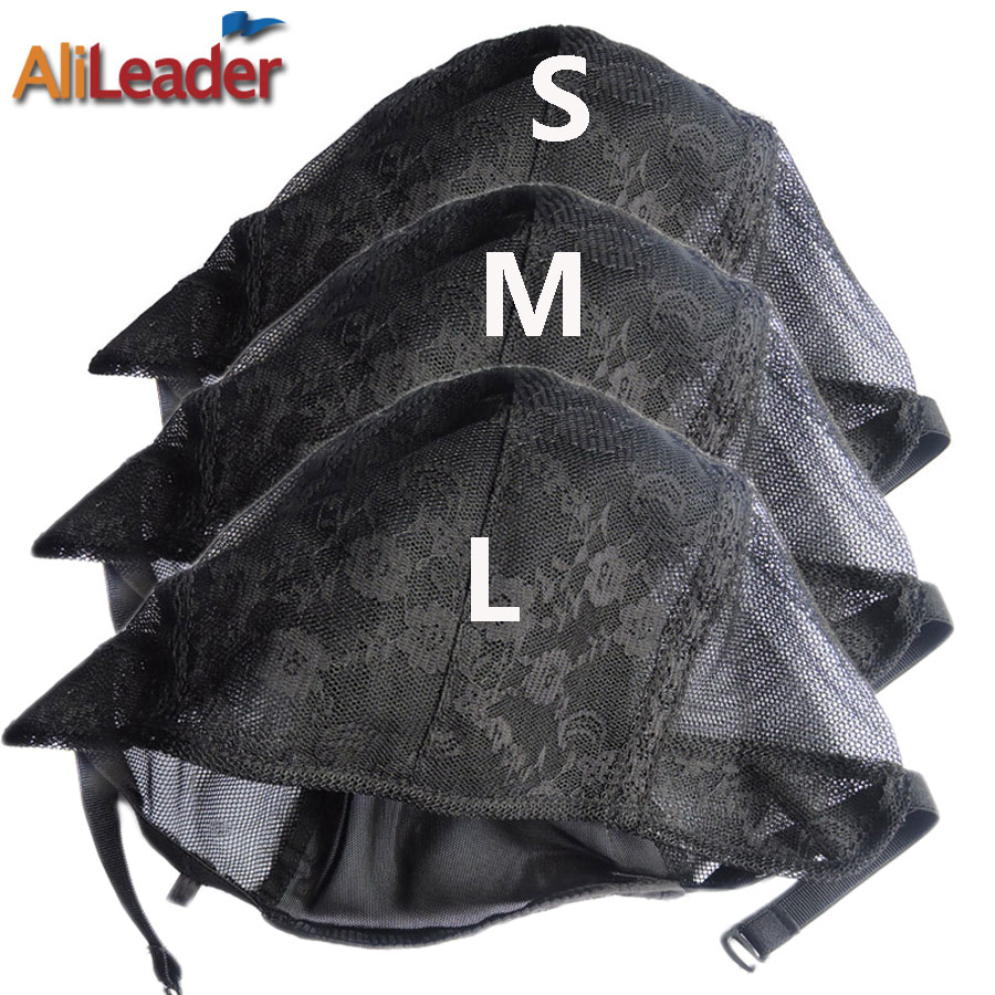 Alileader Professional Swiss Lace Adjustable Wig Caps For Making Wigs With Adjustable Strap Large,Medium,Small Bonnet Perruque(China (Mainland))