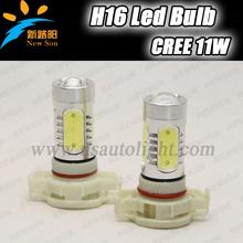 2016 Promotion H16 Car Fog Head Light Lamp Bulb Driving Led Light Lamps 11W CREE chip 12v White Auto H16 Car Led Light