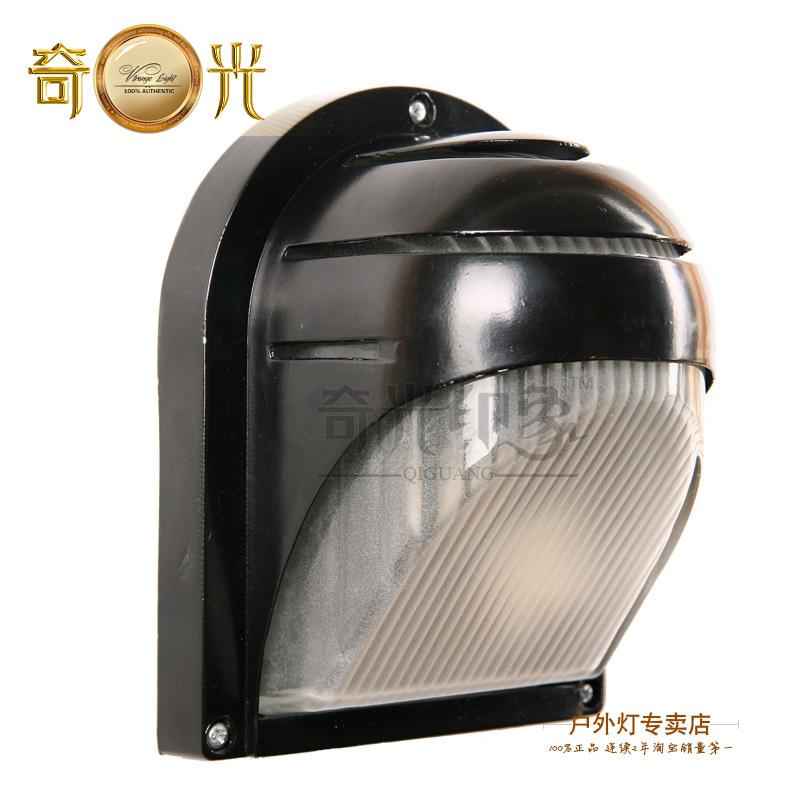 Outdoor lamp wall fashion lamp semi-cirle brief wall lamp gazebo waterproof lighting fitting(China (Mainland))