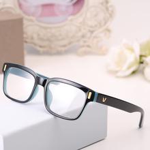 2016 di modo v-shaped box occhio montature per occhiali di marca per gli uomini nuove donne telai per computer occhiali vintage armacao oculos de grau(China (Mainland))