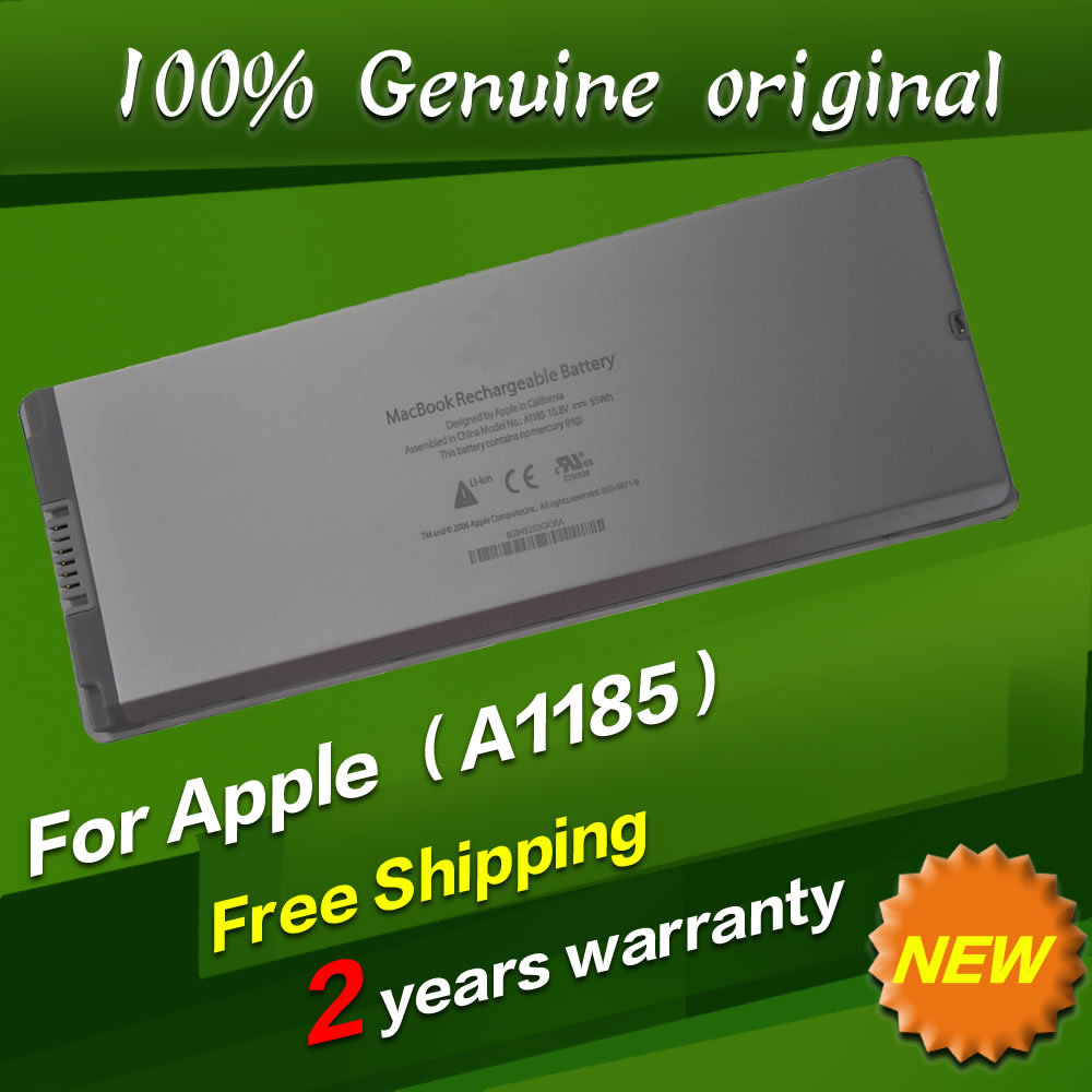 """Free shipping A1185 Original Laptop Battery For APPLE MacBook 13"""" MA254CH/A MA254J/A MA255B/A MA255X/A MA699TA/A MA700CH/A White(China (Mainland))"""