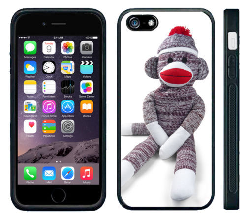 Sock Monkey Doll Stuffed Doll cell phone case cover for for Iphone 4S 5 5S 5C 6 Plus Samsung galaxy S3 S4 S5 6S7edgeNote 2/3/4/5(China (Mainland))