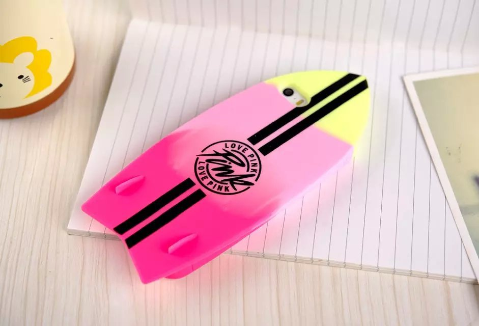 2015 New Case Cover for Apple iPhone 4 4G Soft silicone surfboard Free Shipping(China (Mainland))