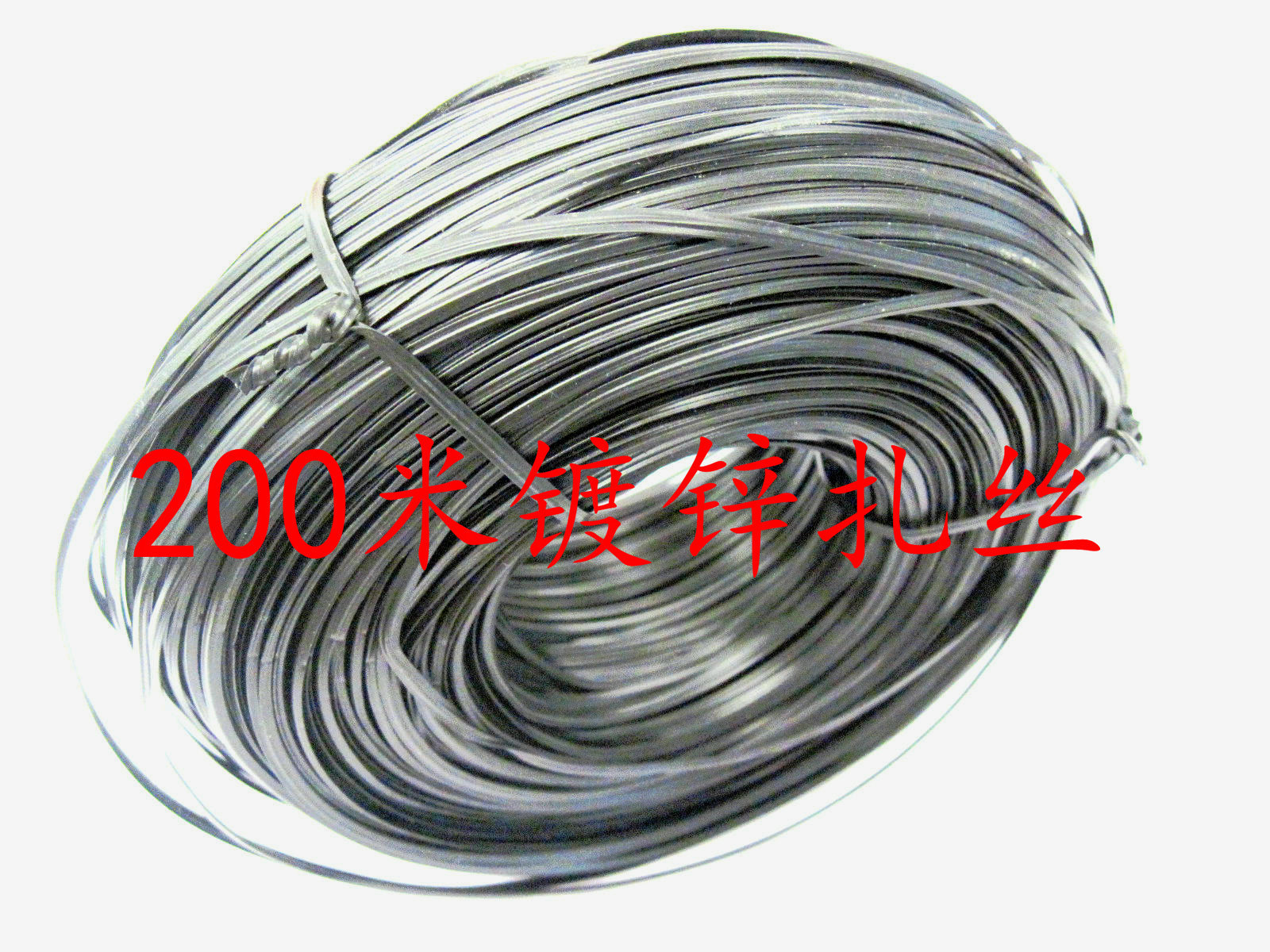 0.8 galvanized wire core plastic coated tie ligation power cable iron Sizha with 200 m roll(China (Mainland))