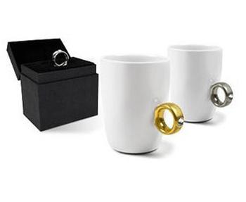 Free Shipping New Novelty items,Elegant Austria Crystal Diamond Ring Ceramic Cup, Valentine's Gift Mugs, Cute Couple Mugs