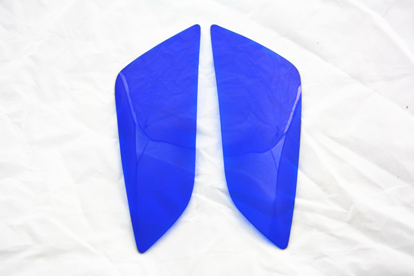 scooter parts/ Blue Motorcycle Headlight Cover Fits for Honda CBR600RR 2003-2006 F5 /CBR1000RR 2004-2007 /free shipping(China (Mainland))