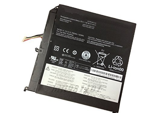 42WH Genuine Original Notebook Battery For Lenovo ThinkPad Helix Series Laptop 45N1102 45N1103 3785mAh/42Wh Netbook Batteries(China (Mainland))