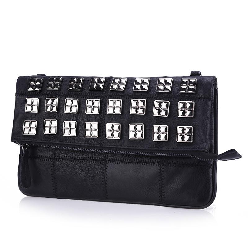 RGM2016women fashion Genuine leather Envelope(China (Mainland))