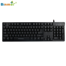 Buy Binmer Hot Selling LED Backlight Llluminate Mechanical Gaming Keyboard USB Wired Gift 1pcs Nov 19 for $23.83 in AliExpress store