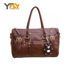 2016 New Design pu leather women's handbag vintage belt bear tassel women's shoulder bag messenger bags casual bag tote DB3683