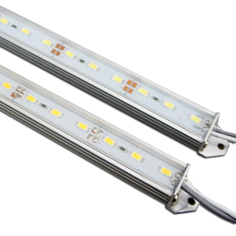 0.5 Mter SMD5730 Waterproof Rigid LED Strip lighting 72LEDs per Meter(China (Mainland))
