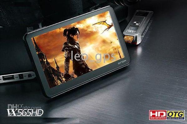 inches TFT screen HP player Onda VX565 Full HD MP5 Player with 5.0 inch LCD and TV-out - 16GB 5(China (Mainland))