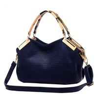 bolsas femininas bag tote 2014 Michaelles Bag Women Handbag Bag Leather Alligator Shoulder Bag Wholesale Free Shipping