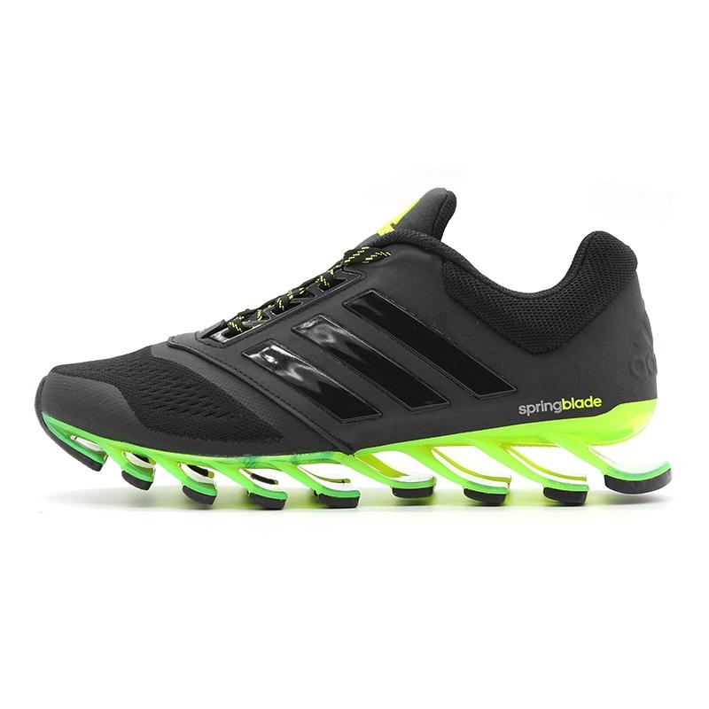 adidas springblade drive preto com verde