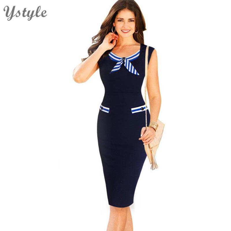 New Fashion 2016 Women Clothing Plus Size Elegant Wear To Work Office Dress Ladies Tunic
