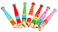 Wooden Toy Flute Piccolos Musical Instrument 1PC(China (Mainland))