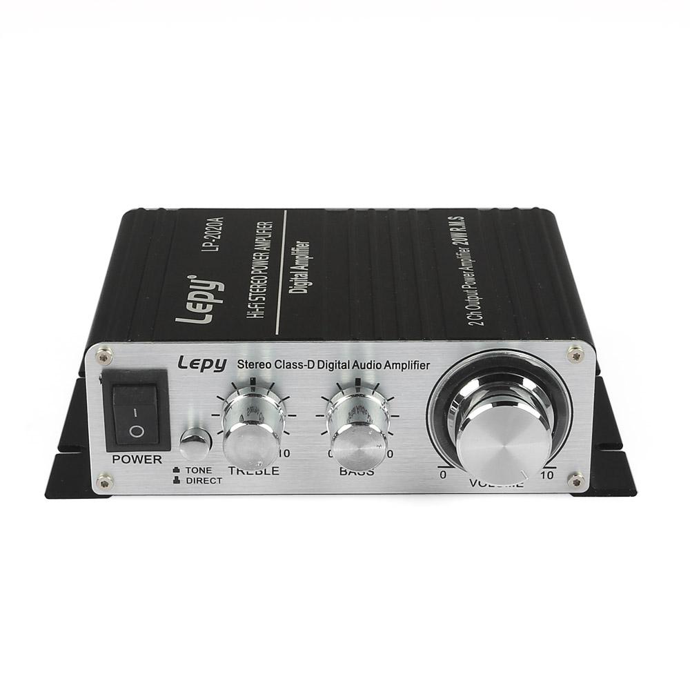 Lepai/Lepy Tripath TA2020A 2*20W Hi-Fi Digital Mini Audio Stereo Home Car Amplifier Tripath TA2020 With Power Adapter Black(China (Mainland))