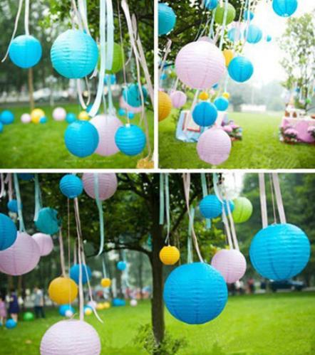 (20pcs/lot) 8''(20cm)Free shipping Chinese paper lantern lamp festival&wedding decoration 12 colors for choosing wedding lantern(China (Mainland))