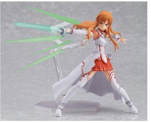 figma 178 anime Sword Art Online SAO Yuuki Asuna action figure Toy Model Collectible 15cm(China (Mainland))