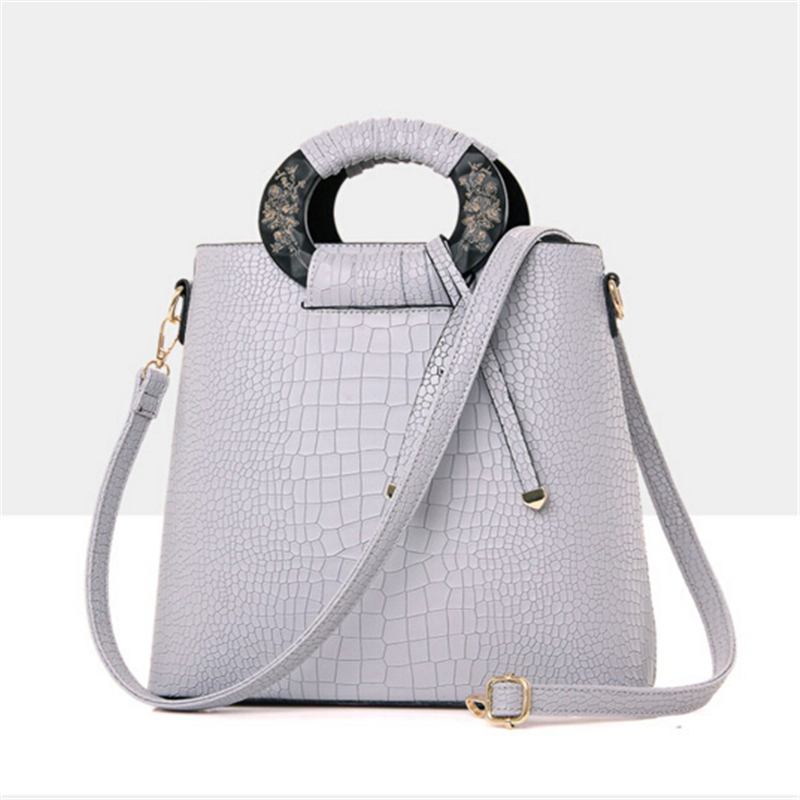 The new Europe big bags simple personality tide bag crocodile vertical commuter bag<br><br>Aliexpress
