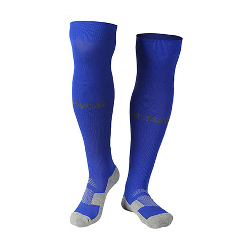 2016 Hot Sale Sport Socks Over Knee Stockings Breathable Antiskied Deodorant Football Soccer Socks Men's Athletic Socks(China (Mainland))