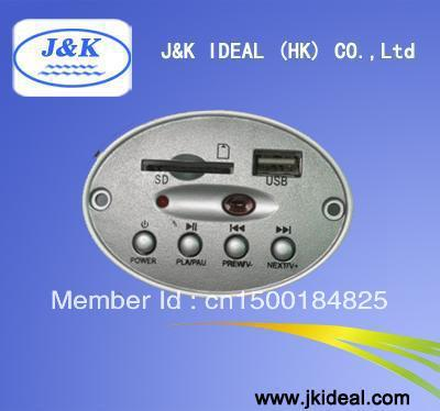 JK6832 USB SD MP3 module with amp 3W*2CH/Remote
