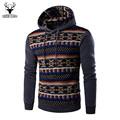 2016 New Hoodies Men s Hombre Hip Hop Male Brand Hoodie National Style Casual Patchwork Sweatshirt