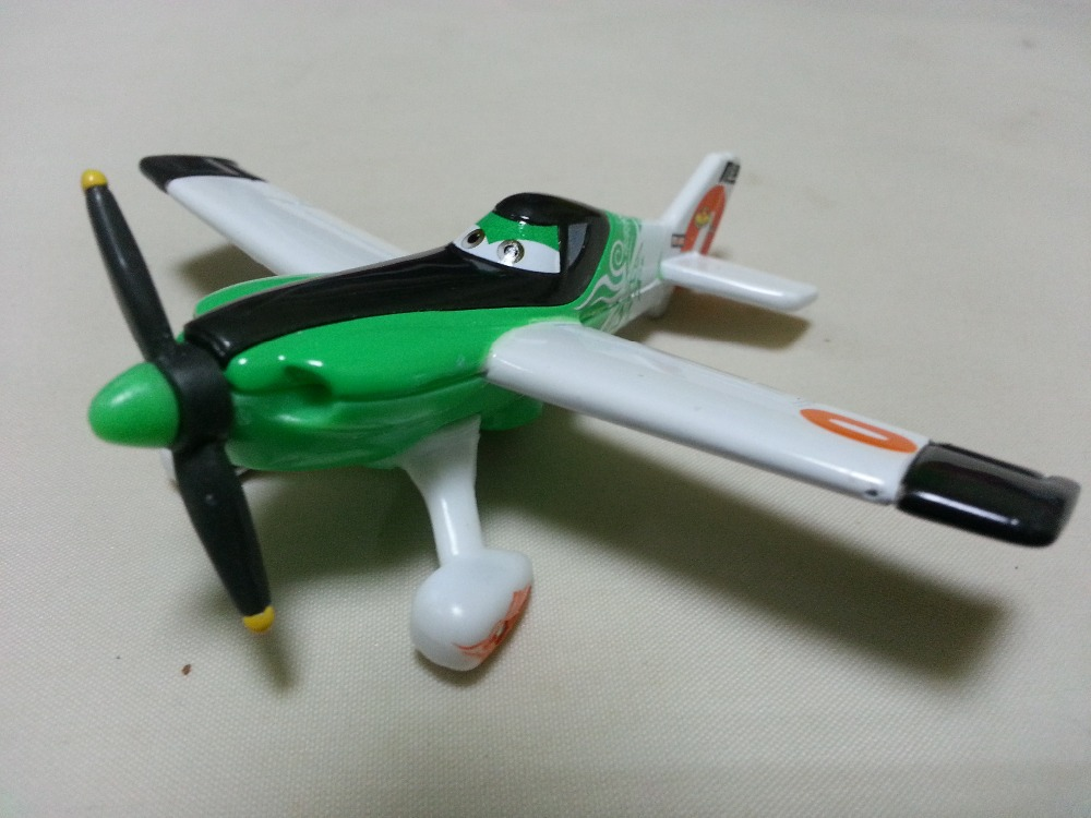 Pixar Planes No.0 Ned Metal Diecast Toy Plane 1:55 Loose New Stock & Free